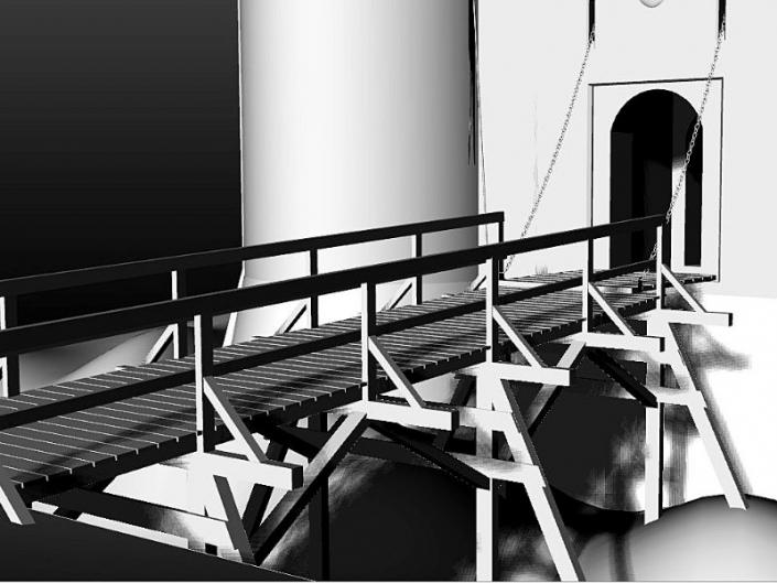 Rekonstrukcija prilaznog drvenog mosta